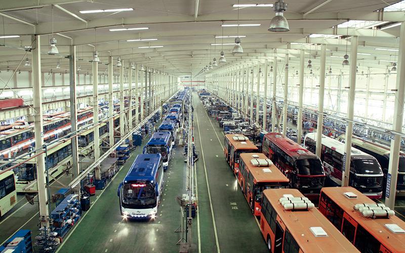 fábrica de autocares